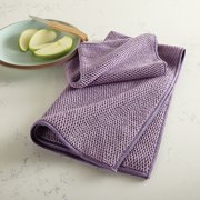 Textured Kitchen Cloth Trio - Amethyst